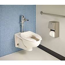 American Standard 2257.101.020 Afwall Elongated Bowl Wall-Mounted Toilet