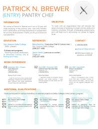 Infographic Resume Template Lovely Culinary Resume By Breanna ...