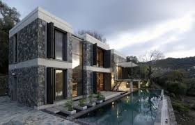 modern home architecture stone. COM » Modern Stone House Home Architecture T