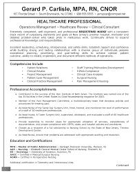 Entry Level Nurse Resume Staff Nurse Resume Gerard P Carlisle