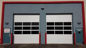 commercial glass garage doors. CHI 3216 With Tinted Glass Commercial Garage Doors R