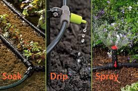 garden irrigation systems.  Irrigation Types Of Watering Systems For Gardens In Garden Irrigation L