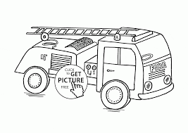 Small Picture Small Fire Truck coloring page for kids transportation coloring