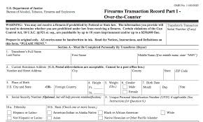 gun background check form. Plain Form The Background Check Process And Gun Form