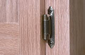 how to install surface mounted hinges startwoodworkingcom saveenlarge inset cabinet hinges top hung kitchen frameless door