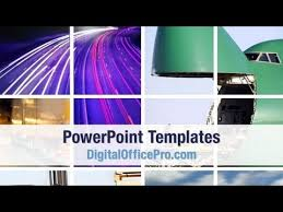 photo collage template powerpoint transportation collage powerpoint template backgrounds