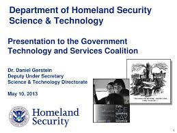 Ppt Department Of Homeland Security Science Technology