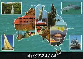 Интересные факты про Австралию Страны мира Самое интересное С   map nature