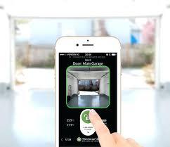 cell phone garage door opener smart program remote
