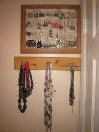 Bracelet Organizer Ideas Wonderful Closet Jewelry Organizer Ideas Roselawnlutheran