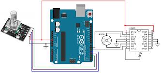 arduino rotary encoder motor control