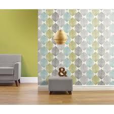Teal Bedroom Wallpaper Only Alb6 Per Roll Opera Heavyweight Wallpaper Retro Leaf Teal
