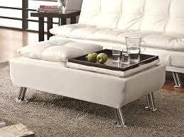 white leather coffee tables large size of coffee leather ottoman coffee table round leather ottoman cocktail