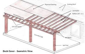 patio cover plans build your or deck for free blueprints free patio cover blueprints o84