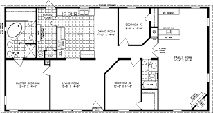 manufactured home floor plan the t n r model tnr 46014w 3 bedrooms