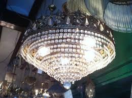 vintage austrian swarovski crystal chandelier 1980s 2