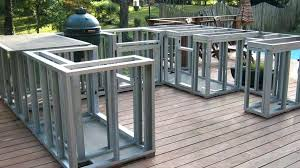 brilliant marvelous outdoor kitchen frame kits outdoor kitchen frame kits build outdoor kitchen frame built in