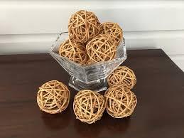 Decorative Woven Balls Stunning Vase Fillers Set Of 32 Decorative Woven Balls Home Decor For
