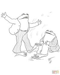 Small Picture Frog and Toad Are Friends coloring page Free Printable Coloring