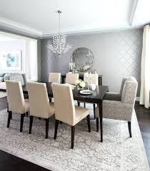 Transitional Style Dining Room Furniture Elegant Tableware For