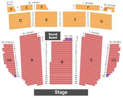 California Theatre Of The Arts Seating Chart San Bernardino