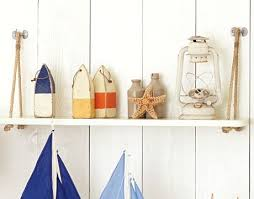 hanging rope shelf ideas diy