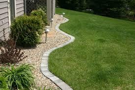 Cheap Landscape Edging Landscape Stone Edging Ideas