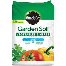 garden soil for vegetables and herbs
