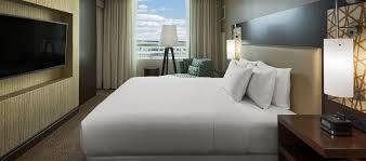 hilton dallas plano granite park hotel tx junior suite bedroom
