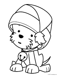 Small Picture Dogs Food Stuff christmas puppy coloring pages Find awesome
