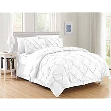 White Bed Sets: Amazon.com