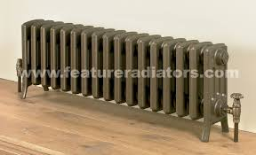 low cast iron radiator
