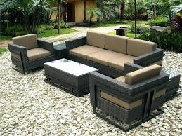 sectional patio dining set large size of table outdoor furniture fur