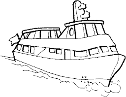 Speedboat Drawing At Getdrawingscom Free For Personal Use