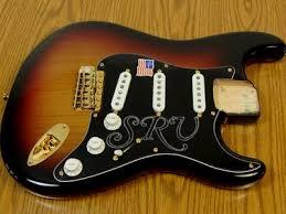 loaded wired srv strat body stratocaster guitar culture new srv strat body loaded and wired