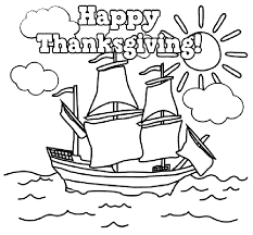 Small Picture Happy Thanksgiving Coloring Pages Printables Picture 7 Color