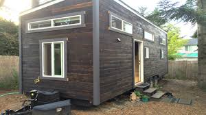 tiny office space. Modern Functional Tiny House With Office Space \u0026 Entertainment Loft   Small Home Design Ideas E