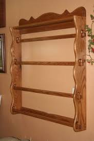 Large wall Quilt Hanger that hold up to six quilts. Many options ... & Quilt rack, solid oak, custom handmade Adamdwight.com