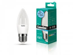 <b>Светодиодная лампа Camelion LED8</b>-<b>C35</b>/<b>845</b>/<b>E27</b> 8Вт 220В 12390