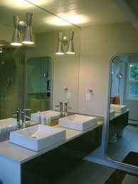 mid century modern bathroom lighting. Mid Century Modern Master Bath - Lights From Rejuvenation Bathroom Lighting T