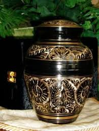 Decorative Urns For Ashes Cremation Urn Flower Funeral Urn For Human Ashes Burial Urn With 23