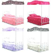 Twin Canopy Bed Curtains Twin Canopy Bed Curtains For Enchanting ...
