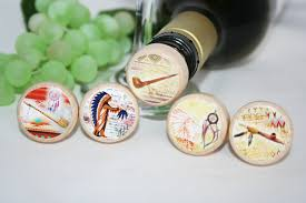 indian themed wine stopper smoke pipe dream catcher indian gift wedding favor wine lover gift wine gift