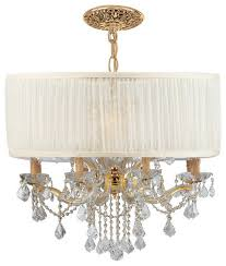 crystorama lighting group 4489 saw clq bwood 12 light crystal drum chandelie traditional