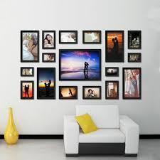 photo frame collage wall hang
