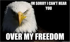America Eagle Says memes | quickmeme via Relatably.com