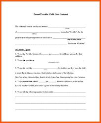 daycare contract template 6 daycare contract templates iwsp5
