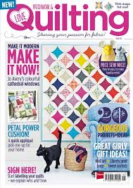 795 best To Sew — Quilts images on Pinterest | Quilt patterns ... & Love Patchwork & Quilting Issue 6 cover - sneak peek! Inside MagazineCathedral  WindowsMagazine OnlinePatchwork ... Adamdwight.com