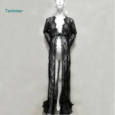 <b>Tonlinker</b> vintage sexy <b>summer</b> Lace photo pregnant dress maternity ...
