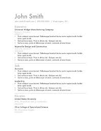 Functional Resume Format Sample Format For Resume Example Of A ...